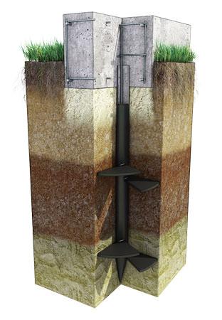 Обвязка бетонной лентой